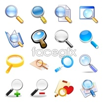 Link toSearch for series of computer icons