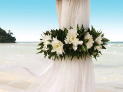 Link toSeaside romantic wedding picture material-1