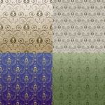 Link toSecond continuous pattern background vector