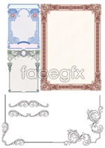 Link toSecurity pattern border vector