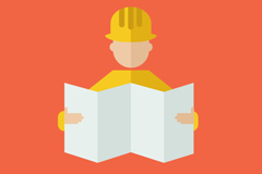 Link toSee drawings of construction workers vector