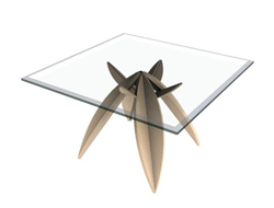 Link toSeeds upon its feet glass tea table 3d models
