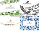 Link toSense of space and squares background vector