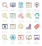 Link toSeo service icon vector
