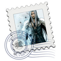 Link toSephiroth mail stamp