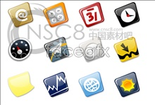 Link toSeries of thunderbolt bright icons