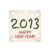 Link toSet of 2013 year snake design vector 11