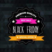 Link toSet of black friday sale elements vector 05 free