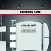 Link toSet of trade exhibition and promotion vector 01