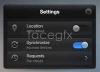 Link toSettings