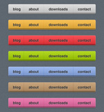 Link toSeven-color web page navigation bar