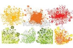 Link toSeven popular color vector pattern