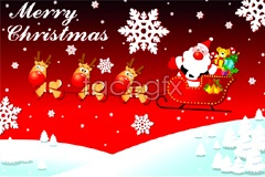 Link toSeveral beautiful christmas card vector