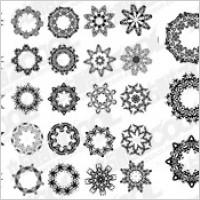 Link toSeveral circular pattern vector material