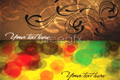 Link toSeveral elegant fashion banner background vector