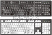 Link toSeveral hyper-realistic keyboard vector