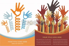 Link toSeveral personalities of the hand theme vector