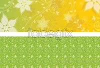 Link toShades of 3 plants background vector