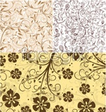 Link toShades of flowers leaves vector
