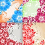 Link toShades of flowers plants vector