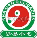 Link toShaxian snack signs vector