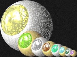 Link toShining diamond sphere svg