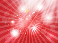 Shining red background vector free