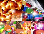 Link toShining trends flare background vector
