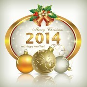 Link toShiny 2014 new year frame background vector 02