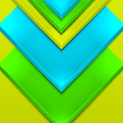 Link toShiny 3d geometry shapes background vector 03 free