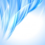Link toShiny blue wave abstract background vector 01 free