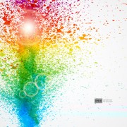 Link toShiny colored grunge background vector 01 free