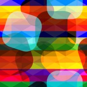 Link toShiny colored shapes vector background free