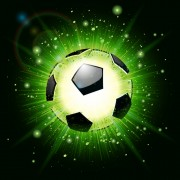Link toShiny football background vector free