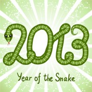 Link toShiny green 2013 snake year design elements 04 vector