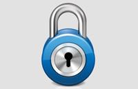 Link toShiny lock web icon psd