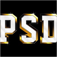 Link toShiny metal text effect psd