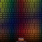 Link toShiny neon light pattern background vector free