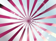 Shiny perspective rays vector free