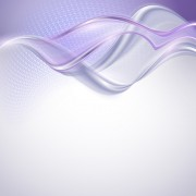 Link toShiny purple wave abstract background vector 01 free