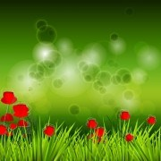 Link toShiny spring elements vector background graphic 04
