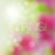 Link toShiny spring elements vector background set 07 free