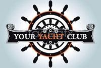 Link toShip rudder logo vector
