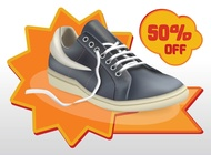 Link toShoes sale vector free