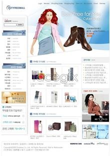 Link toShop women's cosmetics, shoes bag psd