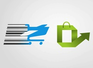 Link toShopping icons graphics vector free