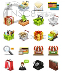 Shopping sales computer icons