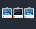 Link toShow album templates