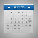 Link toShow calendar psd