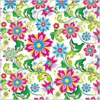 Link toShowy seamless floral vector background